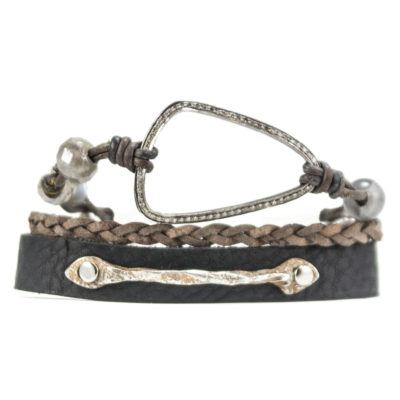 Diamond Triangle Busygirl Bracelet