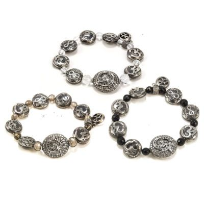 diamond-om-beaded-bracelets