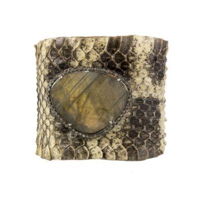 python-and-labradorite-cuff