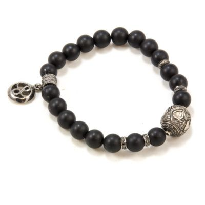 rose-cut-diamond-beaded-bracelet-2