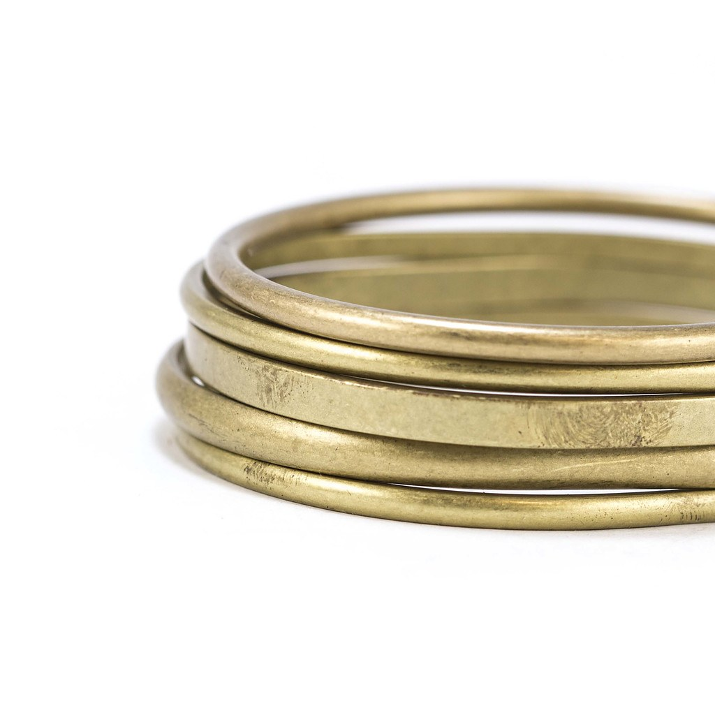 Bronze Bangles - Niyama Jewelry by Michelle MaroccoNiyama Jewelry ...