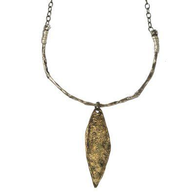 bronze-leaf-tribal-necklace-3