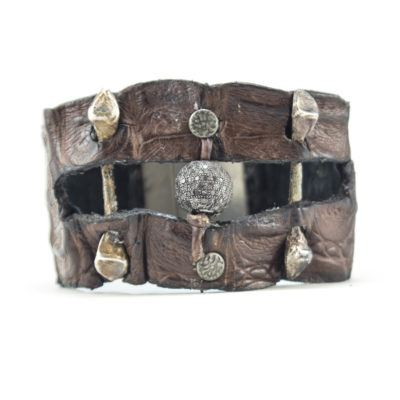 diamond-ball-and-bone-croc-cuff-2