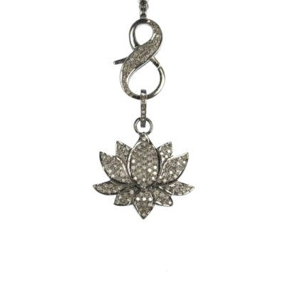 diamond-lotus-pendant