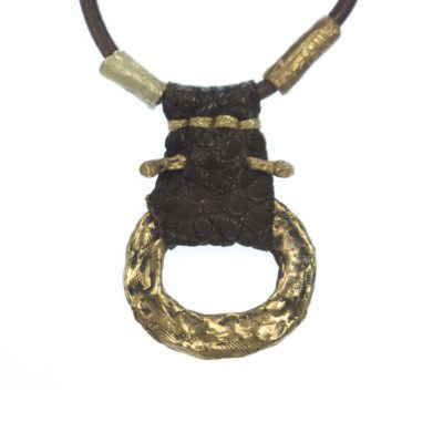 hammered-ring-tribal-necklace
