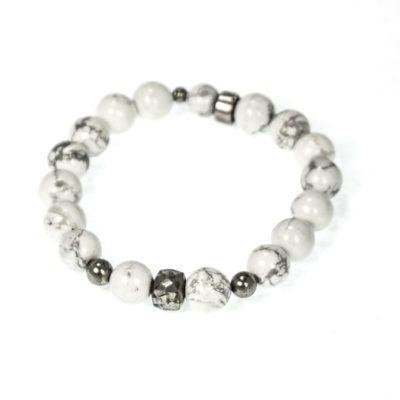 howlite-and-pyrite-beaded-mens-bracelet