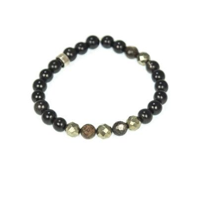 pyrite-and-mica-beaded-bracelet-mens