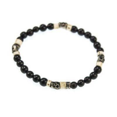 pyrite-skull-beaded-bracelet-black-2