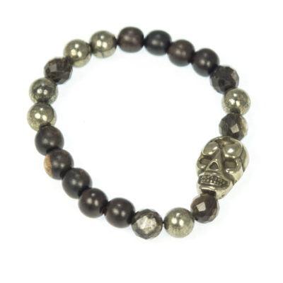 pyrite-skull-beaded-bracelet-womens