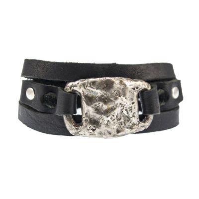 silver-tile-bracelet-mens