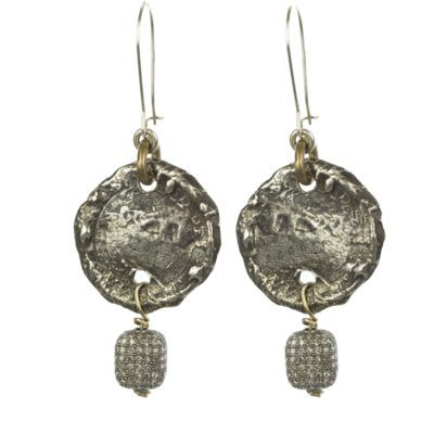 coin-and-dia-bead-earrings