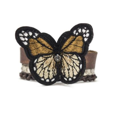Brown Butterfly Bracelet
