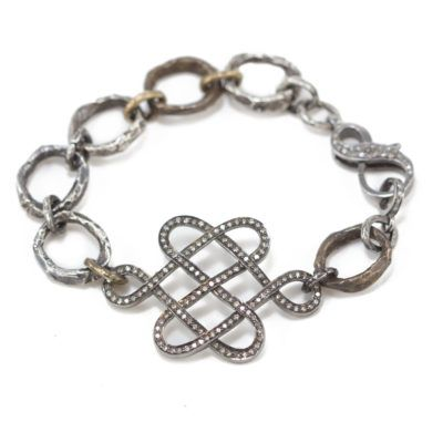 Diamond Lattice Chain Bracelet 2