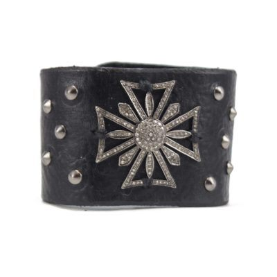 diamond maltese cross cuff 4