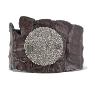 large dia disc and croc cuff 3